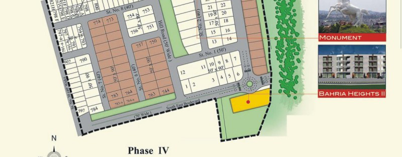 phase 6 map bahria town