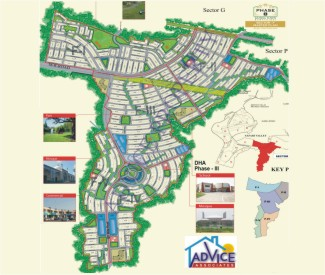 map Block F Bahria town