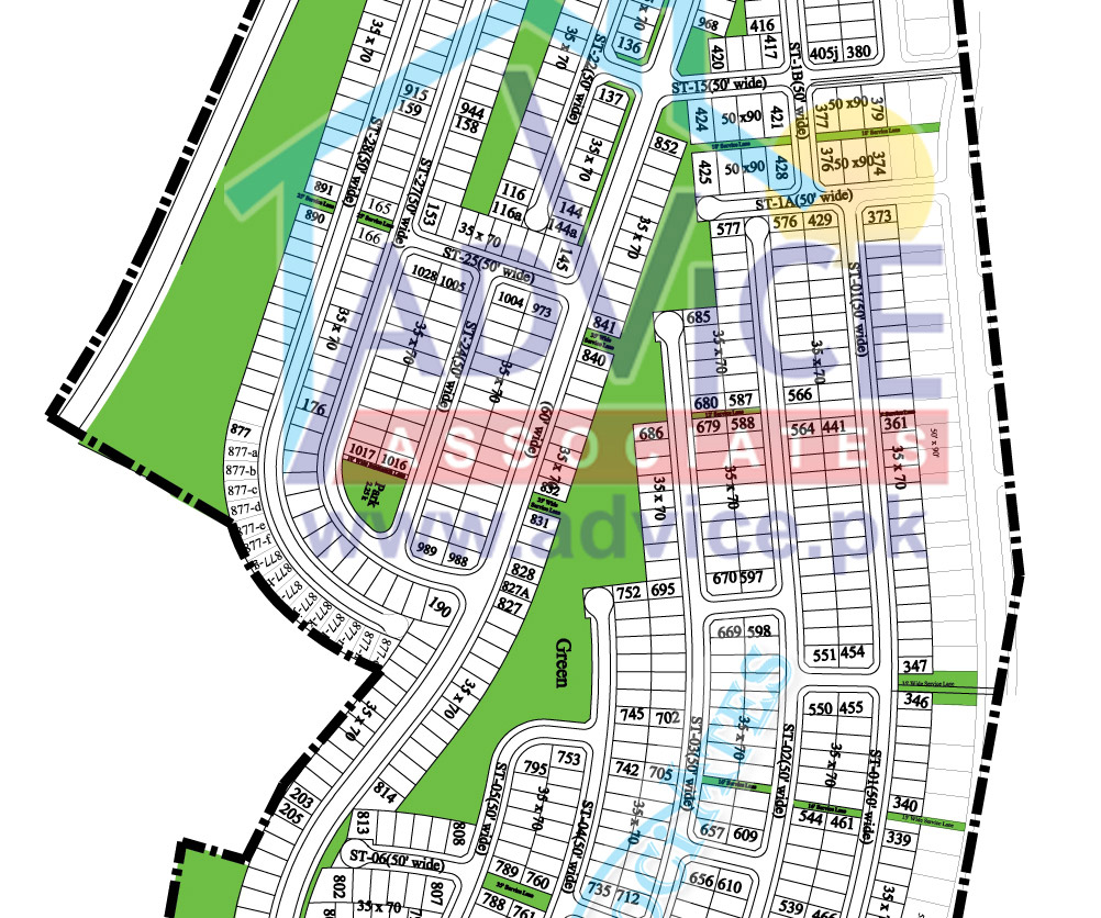 Bahria Town Islamabad Phase 8: Map Phase 8 Block H , Bahria Town Phase 8 Block H , Bahria